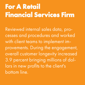For a Retail Financial Services Firm