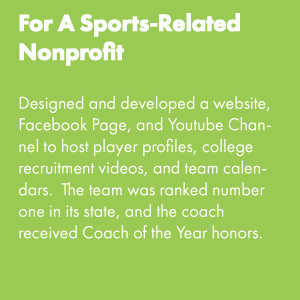 For a Sports-Related Nonprofit