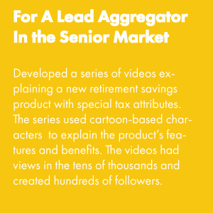 For A Lead Aggregator In the Senior Market